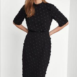 BCBG Max Azria Jacquard Midi Dress